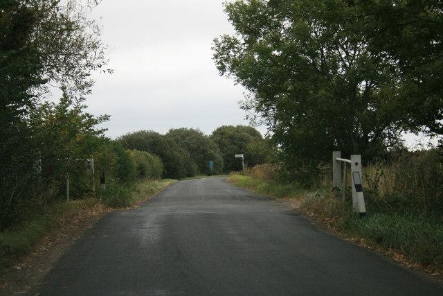 Bridge on the road to Kelmscott