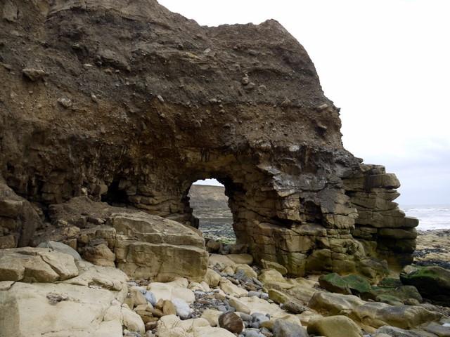 Arch near Ryehope Nook