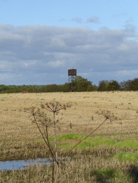 Water storage tank, Roecliffe Moor