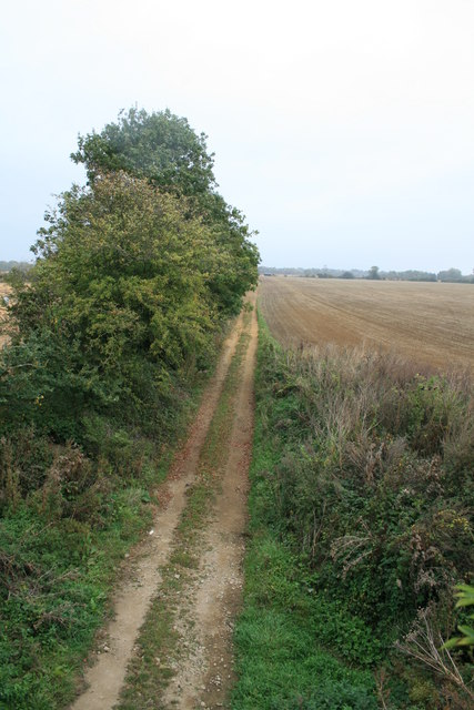 Footpath along the old railway line