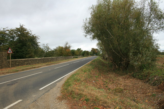 A4095 heading north