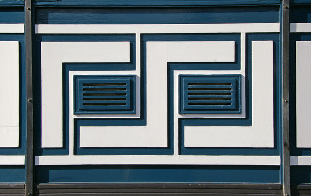 Art Deco Design at Southgate Station, London N14