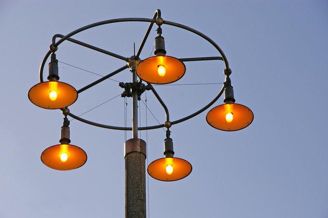 Lamp Standard, Southgate Station, London N14