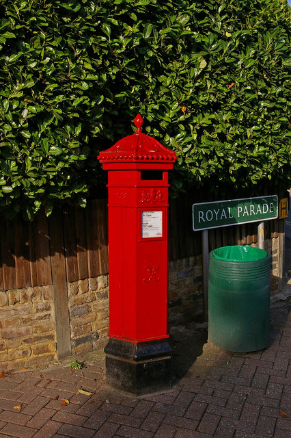 Penfold postbox, Royal Parade