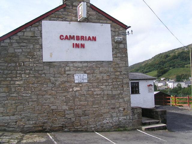 Cambrian Inn, Llanelly Hill