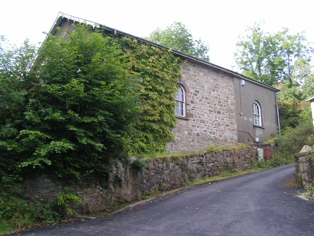 Old Chapel, Llanelly hill