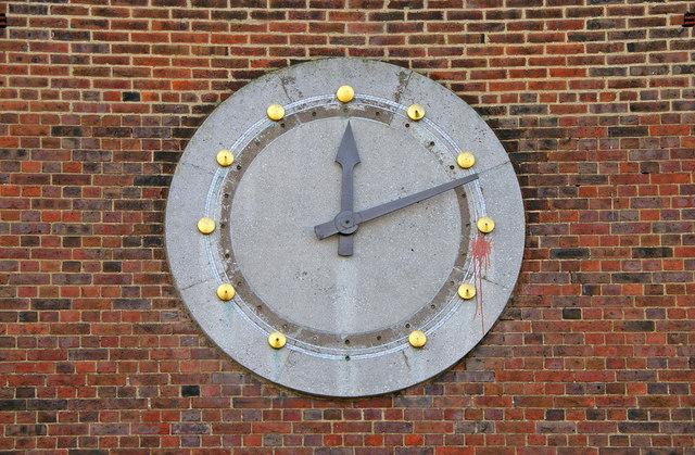 Clock, Station Parade, Southgate, London N14