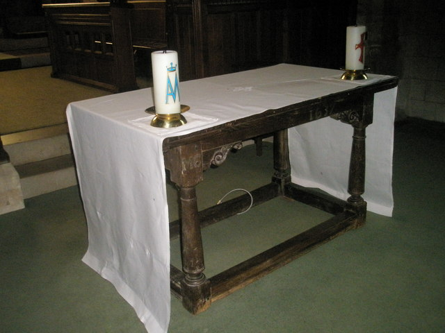 The Lord's Table within St John the Baptist, Greatham
