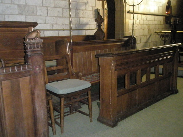 Choir stalls within St John the Baptist, Greatham