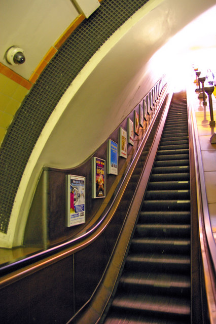 Escalator, Southgate Station, London N14