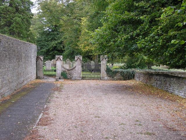 Gates of St Mary's Church, Clipsham