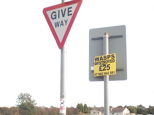 Signs, Rockcliffe Path