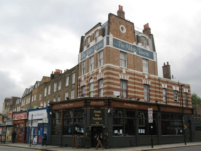 The Abbey Tavern, Kentish Town Road / Bartholomew Road, NW1