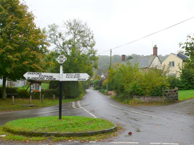 Sign Post Ibberton Village