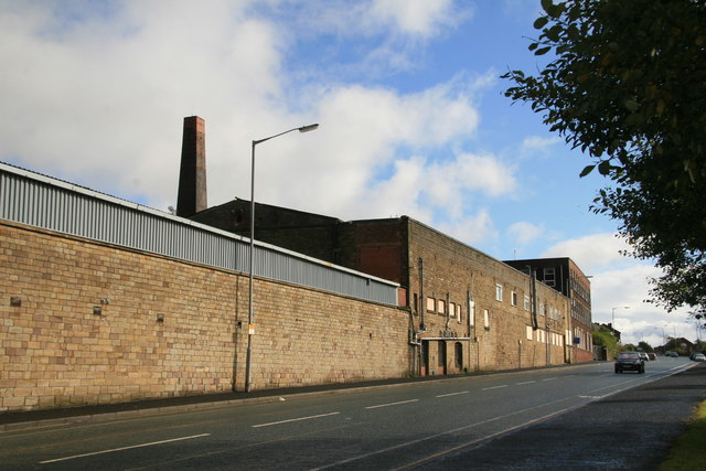 Ainsworth Finishing Company, Ainsworth Mill