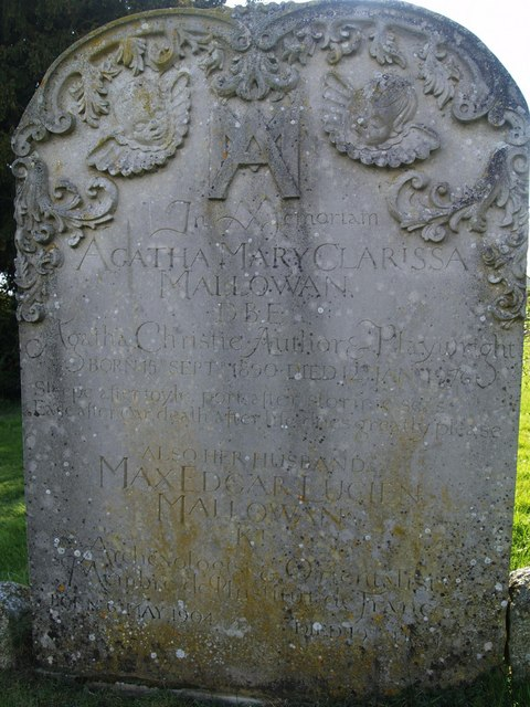 Agatha Christies grave, St Marys, Cholsey