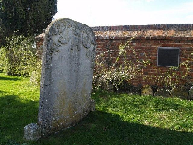 Agatha Christies grave, St Marys, Cholsey
