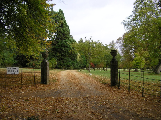 Entrance to the Grounds of Clipsham Hall, Bradley Lane