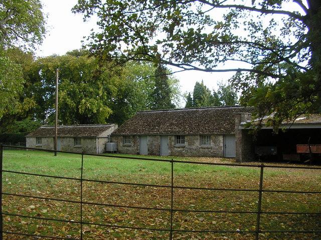 Outbuildings, Clipsham Hall