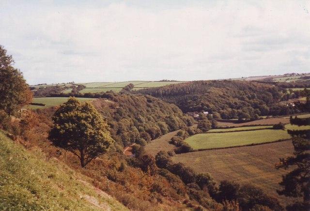 The ridge above the River Torridge, Great Torrington, Devon