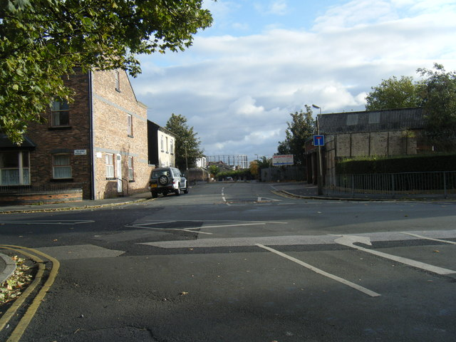 Garston Old Road/Island Road junction.