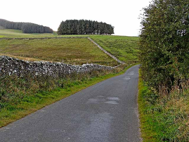 Minor road from Ashkirk to the Ettrick valley