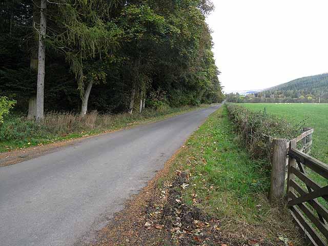 B7039 near Bowhill