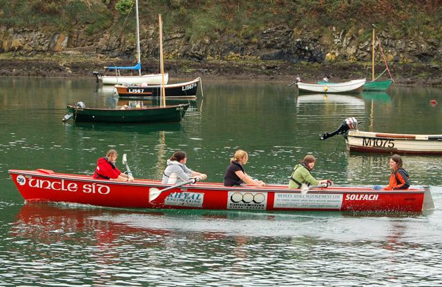 Gig (longboat) racing at Solva (5)