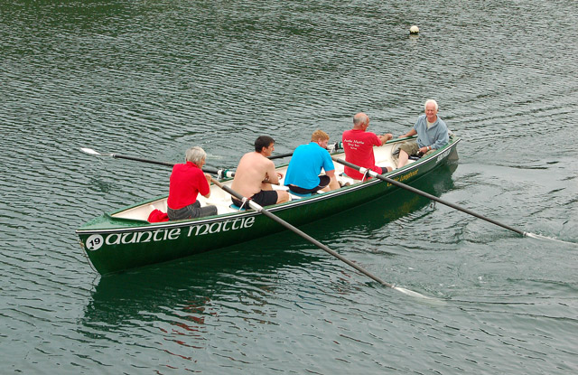 Gig (longboat) racing at Solva (6)