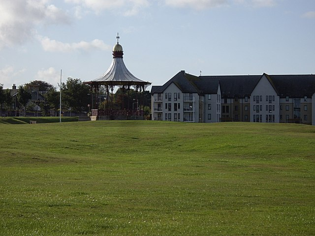 Bandstand on Nairn Links