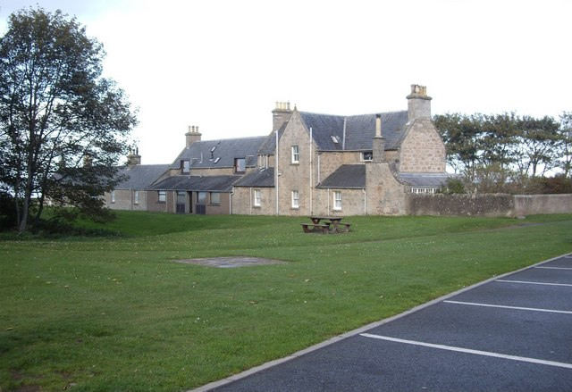 Terraced housing on Nairn Links