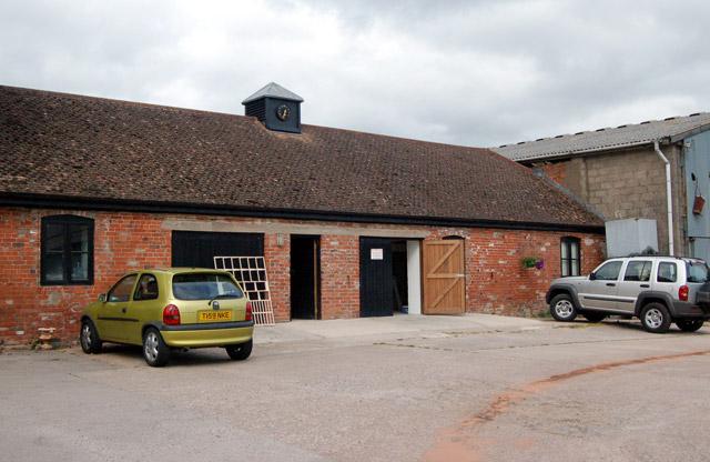 Small business centre at Castle Farm, Raglan