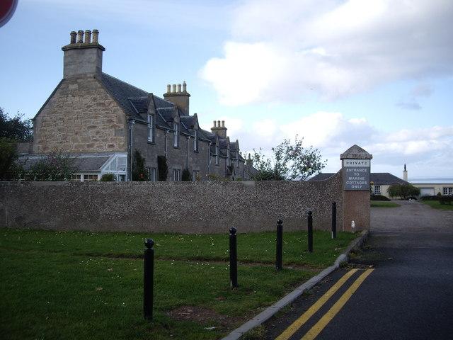 Marine Cottages, Nairn Links