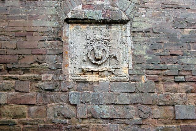 Coat of arms, Raglan Castle