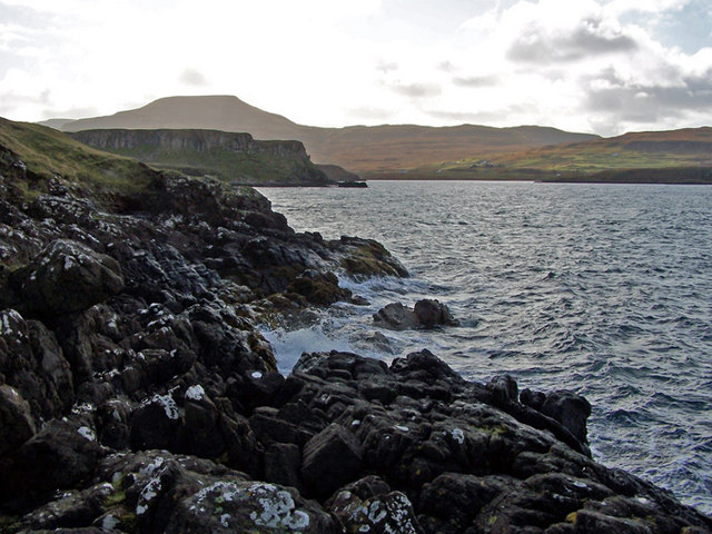 Rocks at Uiginish Point