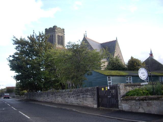 Church tower, Seabank Road