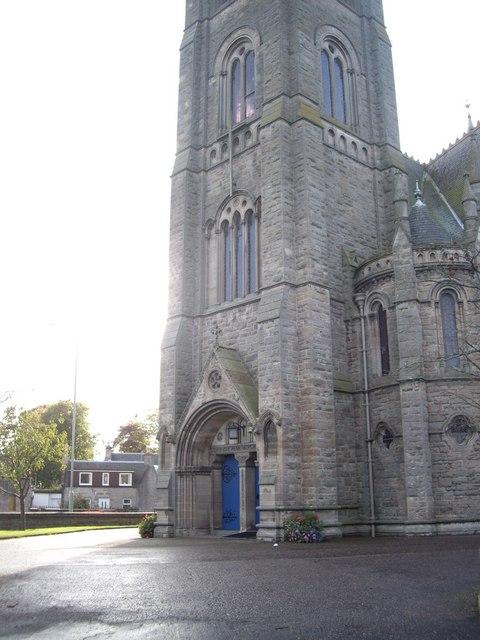 West door, Old Parish Church, Nairn
