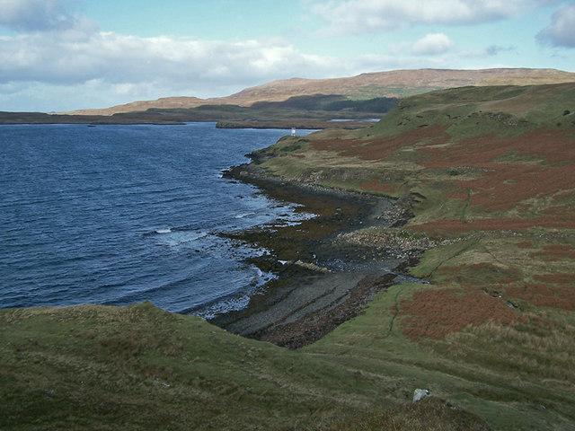 View towards Uiginish Point