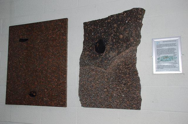 Granite on display, Shap Wells Hotel