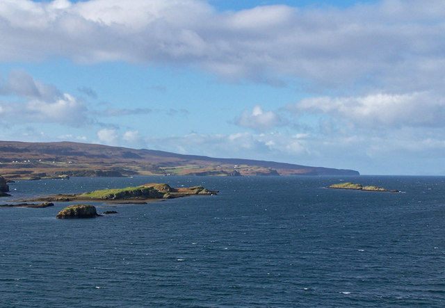 Islands in Loch Dunvegan