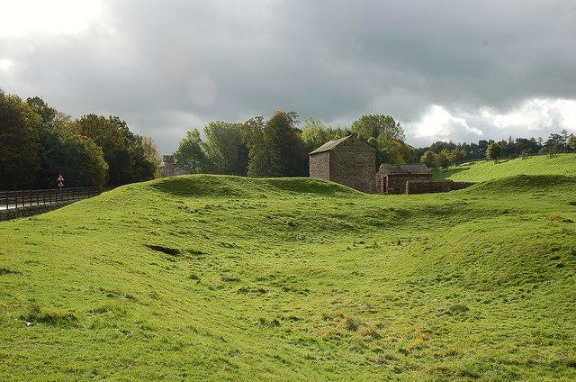 King Arthur's Round Table site, Eamont Bridge