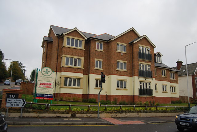New Flats, corner of Dunstan Rd & Upper Grosvenor Rd