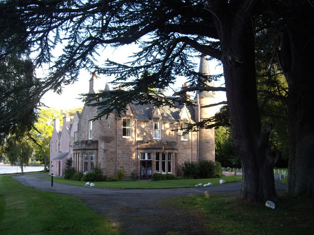 West face, Bunchrew House Hotel