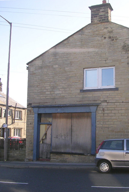 Disused Shop - Old Road