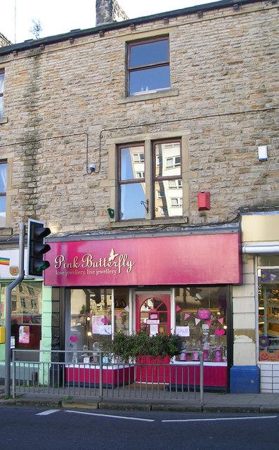 Pink Butterfly - Town Street