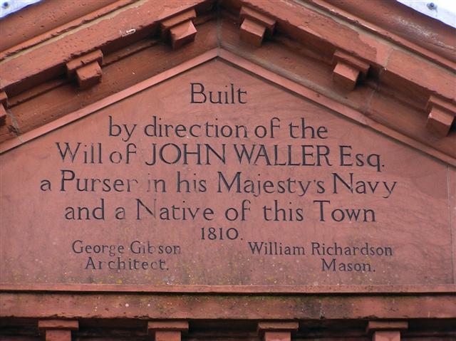 Inscription, Market Hall