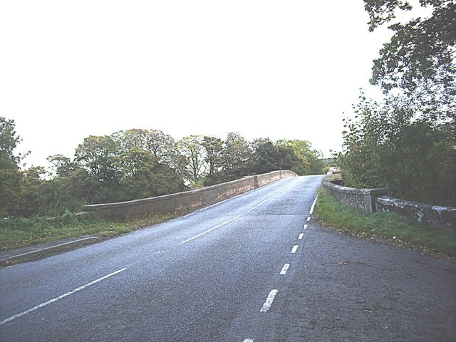 A862 crossing River Beauly