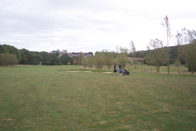 Golfers on London Beach Golf Course