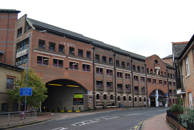 Multi storey car park for The Royal Victoria Place, Victoria Rd