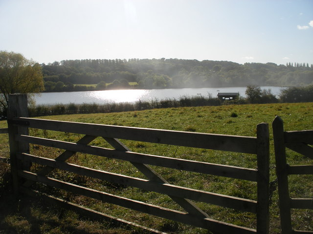 Worsbrough Reservoir from the Trans Pennine Trail